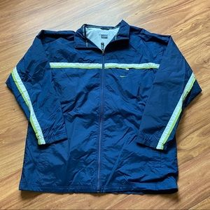 Vintage navy blue nike windbreaker